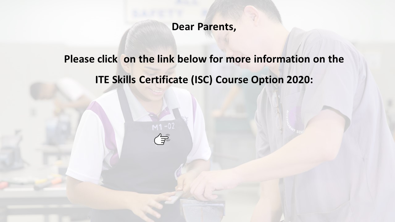 ISC COURSE OPTION 2020